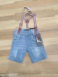 Light Blue Kids Dungarees