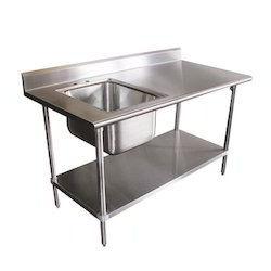 SS Sink with Table