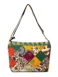 Multicolor Green The Map Eco Friendly Bags