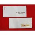 "Royal White Rectangular Invitation Card, Size: 11.25"" X 5.25"""