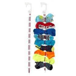Sock Organizer Sock Dock Washer Easy Clips & Locks Paired Socks Without Ties