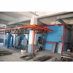 Powder Coating Conveyor Plant