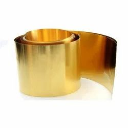 Brass Sheet 63/37 Yellow Brass