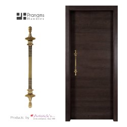 Antique Brass Door Handle Sets