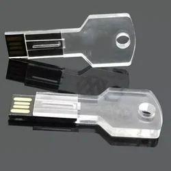 Key Shape Crystal USB Pendrive