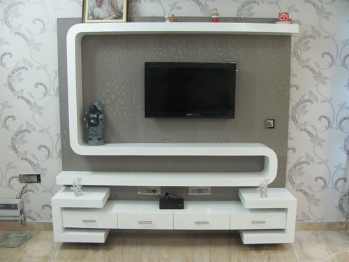 LCD Wall Designing Service Bedroom LCD Design Service Provider