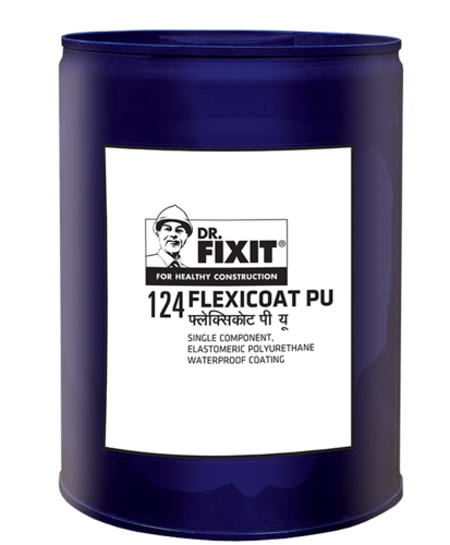 Waterproofing Coating Dr Fixit Flexicoat Pu Packaging Size 20kg Packaging Type Bucket Rs 330 Litre Id 12958829288