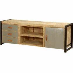 TV Console Media Cabinet