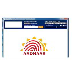 PVC Aadhaar Card Printing Software, Dimension / Size: 86by54 Mm