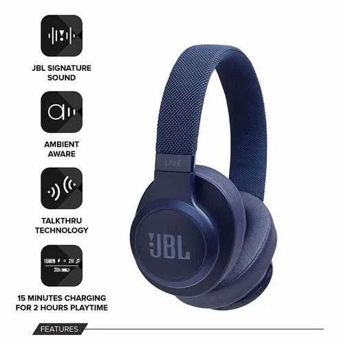 500BT  JBL Live Wireless Over-Ear Headphones