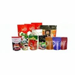 Pack Printed Pouches Multi Color Printing Laminated Pouch