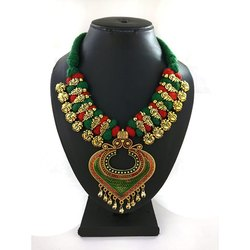 Meenakari Kolhapuri Designer Necklace