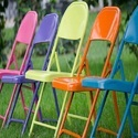 Colored Folding Chair