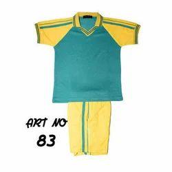 Half Sleeves Kids School Uniform