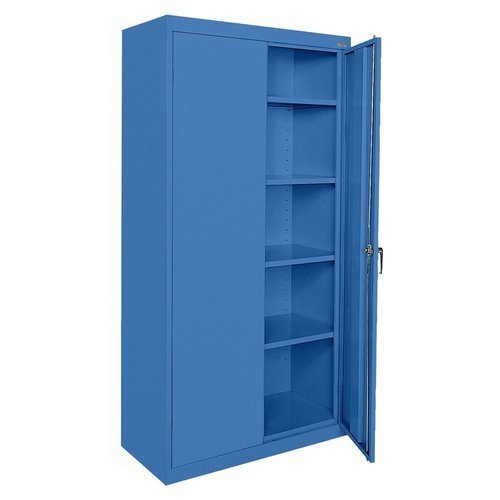 Stainless Steel Blue Double Drawer Cupboards