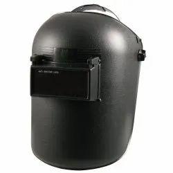 Safedot Black Anti Spatter Lens Welding Helmet