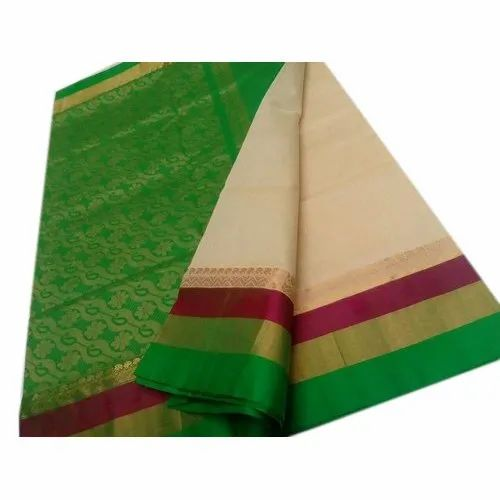 Printed Pure Silk Saree, Packaging Type: Packet, 6 m (with blouse piece)