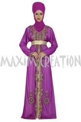 Moroccan Party Wear Jalabiya For Ladies