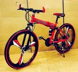Land Rover Red Foldable Cycle