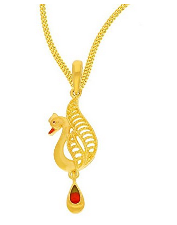 jewellery and product pendant yellow ganesha om gold with tanishq design