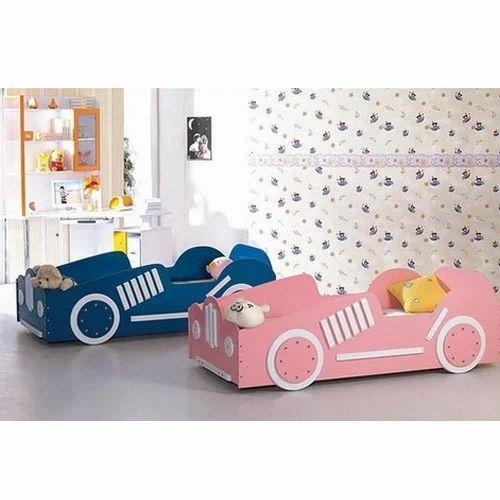 Car Bed Baby Children Girls Kids Bedroom Furniture
