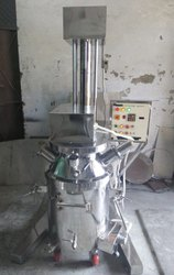 Ss 304 Planetary Mixer With Vaccum And Homogenizer System And Auto Lifting
