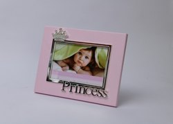 Princess Crown Crystal Studded Kids Photo Frame