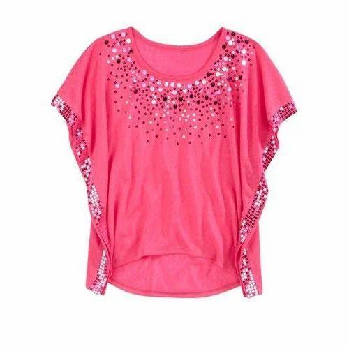 0aab20ee XL Pink Ladies Designer Top, Rs 250 /piece, Rahul Enterprises | ID ...