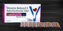 Olmesartan 40 mg & Hydrochlorothiazide 25 mg