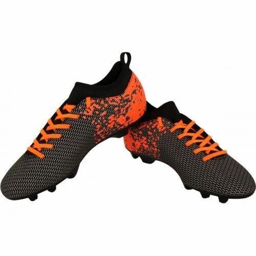 Orange Men Nivia Football Shoes, Rs 400