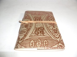 Designer Handmade Leather Writing Note Book
