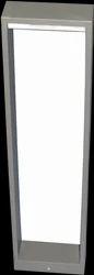 Rectangular Bollard Light( Big) Housing