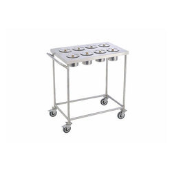 Steel Masala Trolleys