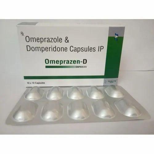 Omeprazole And Domperidone Capsules Ip At Rs 490 Box Manimajra