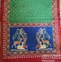 No Gerrntee Silk Double Iket Patola Saree, Hand Made, Both Side Pallu Not With Blouse 5.5 M