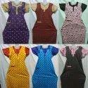 Full Length Half Sleeves Ladies Cotton Nighty, Size: Large