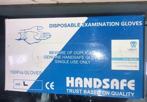 Disposable Latex Powdered Examination Gloves