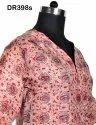 Vintage Recycled Saris Women's Short Top Kurti DR398s