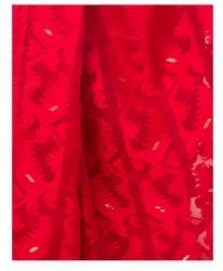 Cotton Silk Woven Jacquard Saree