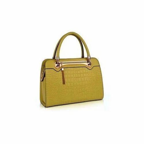57515a59fd73 Plain Rexin Ladies Fashion Hand Bag