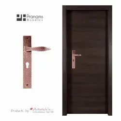 Copper Finish Door Handles