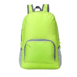Anva Multicolor Water Resistant Travel Folding Backpack for travelling, promotional Gift & much more