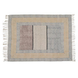 Cotton Printed Indian Dhurrie Rugs