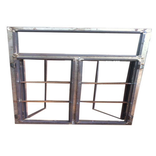 Mild Steel Frame Window at Rs 80 /running feet | MS Window - Gajanan ...