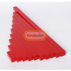 Red Long Bar Kids Toys