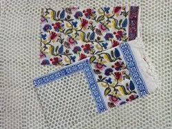 Multi Color Floral Hand Block Printed Cotton Fabric