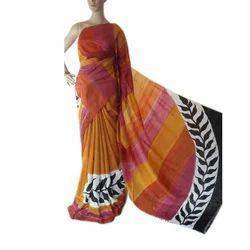 Tussar Silk Printed Sarees