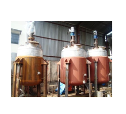 Jacket Non GMP Reactor, Capacity: 2-3 KL And 3-4 KL