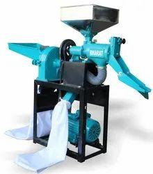 Electric Mini Rice Mill Machine, Capacity: 120-150 ton/day