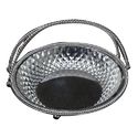 Silver Coated Imported Basket